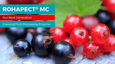 ROHAPECT® MC, the next generation classical pectinase enzyme for berries and other fruits from AB Enzymes