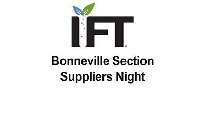 IFT Bonneville Section Suppliers Night